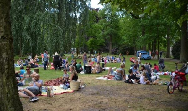 Picknick in Park Stapelen