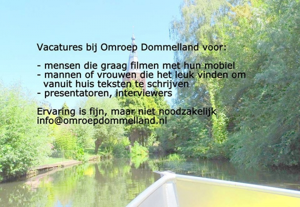 Vacatures Omroep Dommelland